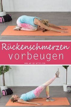 Back training without equipment - 11 effective exercises for the back - You don& know how to get rid of your back pain? Try our workout for at home. Fitness Workouts, Butt Workout, Yoga Fitness, At Home Workouts, Fitness Inspiration, Trampoline Workout, 6 Pack Abs, Food Trends, How To Get Rid