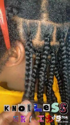 Latest Braided Hairstyles, Big Box Braids Hairstyles, Braids Hairstyles Pictures, Black Girl Braided Hairstyles, Twist Braid Hairstyles, African Braids Hairstyles, 4 Braids Hairstyle, Hair Twist Styles, Hair Ponytail Styles