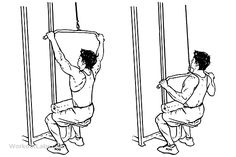 Wide-Grip Lat Pulldowns / Pull Downs