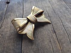 Miriam Haskell Brooch Signed Haskell Bow by DanasLegacy on Etsy