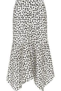 GANNI - Calla wrap-effect leopard-print stretch-silk skirt Silk Organza, Silk Satin, Body Shape Calculator, Veja Sneakers, Real Bodies, Satin Midi Skirt, Silk Skirt, Thing 1, Womens Fashion For Work
