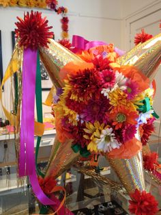 Zinnia Embellished Pinata We could make this for Fiesta Party Mexican Pinata, Mexican Fiesta Party, Fiesta Theme Party, Mexican Birthday Parties, Grad Parties, 21st Birthday, Mexican Party Decorations, Party Time, Creations