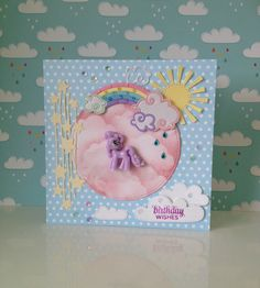 handmade my little pony birthday card. made by www.paperalley.co.uk #mylittlepony
