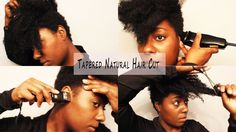 "Natural Hair Cut| How I Tapered It AGAIN Y""ALL....LOL4 months later! whoa! im ready to cut my hair!"