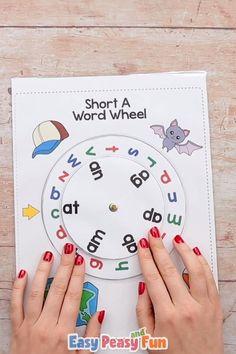 CVC Word Wheel