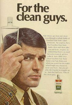Vaseline Hair Tonic.