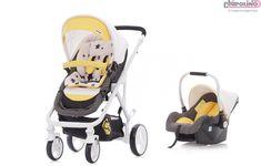 Chipolino Etro Yellow Travel Set Bebek Arabası