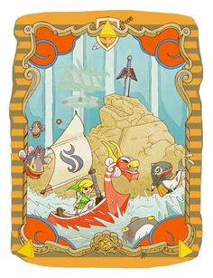 The Wind Waker fan art |  #TWWHD