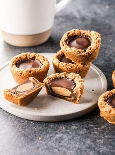 Vegan Flourless Peanut Butter Temptations. These are my family's favorite cookies of all time. Be warned-- they are ADDICTIVE!