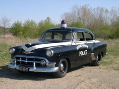 50's cop car - Google Search                                                                                                                                                                                 More
