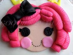 12pc Lalaloopsy fondant cupcake toppers EDIBLE by GoodiesByMelissa, $19.00