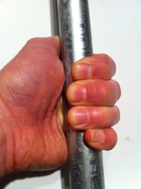 How to Avoid Blisters from CrossFit Pull-Ups... it's all about the grip