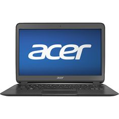 """Acer - Aspire Ultrabook 13.3"""" Laptop - 4GB Memory - 256GB Solid State Drive - Black"""