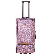 For the love of paisley get the Volcom Medium Vacations Wheelie Bag from City Beach Australia