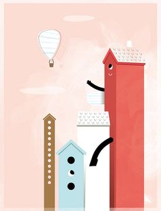 I love this illustation by Roberto Blefari - Hikimi