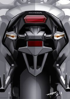 Motorcycle Lights, Motorcycle Art, Bike Art, Car Interior Sketch, Car Design Sketch, Concept Motorcycles, Cool Motorcycles, Motorbike Design, Bicycle Design