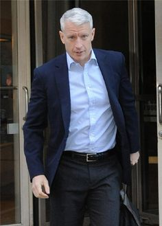 anderson cooper | estilo Anderson Cooper.