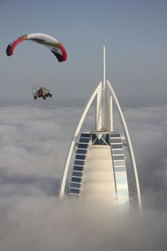 Dubai - above the clouds................................