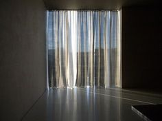 Kolumba Museum, Peter Zumthor. Hand sewn silk curtains. Photo by Jorn Schiemann. A place that speaks to the senses.
