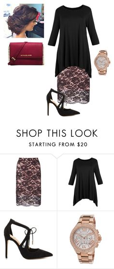 """Untitled #805"" by bye18 ❤ liked on Polyvore featuring Miss Selfridge, Daya and Michael Kors"