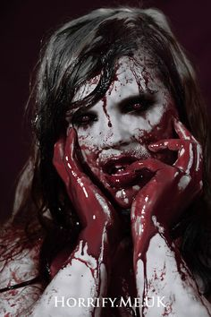 Fulfillment Horrify Me - horror photography, photographic portrait, zombies… Horror Make-up, Arte Horror, Horror Movies, Slasher Movies, Gothic Horror, Scary Makeup, Sfx Makeup, Costume Makeup, Horror Photography