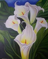 32 Melhores Imagens De Copo De Leite Flores Pintadas