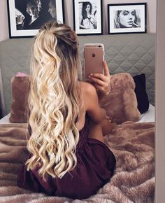 A cut hairstyle hair hair styles, curly hair styles a prom h Formal Hairstyles, Pretty Hairstyles, Hairstyle Ideas, Long Brunette Hairstyles, Makeup Hairstyle, Krimped Hairstyles, Simple Homecoming Hairstyles, Prom Hairstyles For Long Hair Curly, Cool Easy Hairstyles
