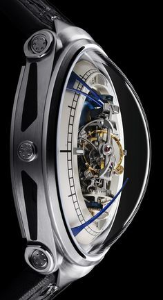 Luxury Watches For Mens Picture Description Vianney Halter Deep Space Tourbillon Watch Is Trekkie's Wet Dream - Amazing Watches, Beautiful Watches, Cool Watches, Watches For Men, Stylish Watches, Dream Watches, Fine Watches, Luxury Watches, Tourbillon Watch