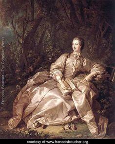 Madame de Pompadour 1758 - François Boucher - www.francoisboucher.org