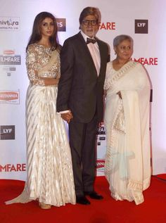 Shweta Bachchan Nanda, Amitabh Bachchan, Jaya Bachchan