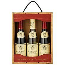 Buy Louis Jadot Wine Set, 3 x 37.5cl Online at johnlewis.com