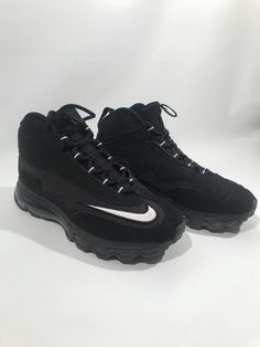 6d42ad65c4 Nike Air Max Ken Griffey Jr. 24 Swingman Baseball Shoes Size 7.5 Black  #fashion