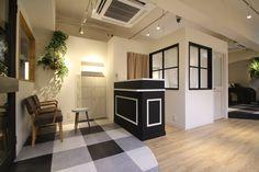 おしゃれ かわいい 美容室 内装 大阪 設計デザイン サロンデザイン 株式会社コルモデザイン  #space design #simple #salon #colmodesign
