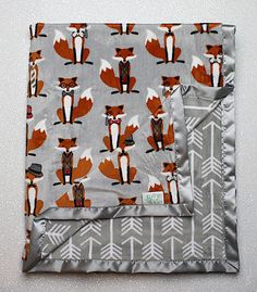 Wow, this is a nice fox bedding to complete your nursery decor. Those foxes look super cool. Boys and girls will love the fox theme in their bedroom. Baby Girl Bedding, Baby Girl Blankets, Baby Bedroom, Baby Boy Rooms, Baby Boy Nurseries, Baby Nursery Themes, Baby Room Decor, Nursery Decor, Nursery Ideas