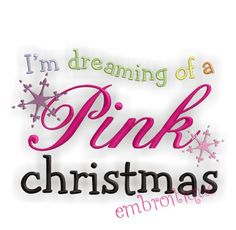 i'm dreaming of a pink christmas - Google Search