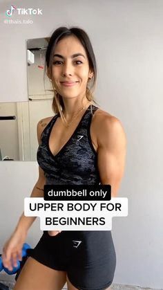 Dumbbell Only Upper Body Workout for Beginners