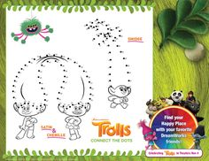 Trolls Coloring Pages - New Happy Birthday Trolls coloring ...