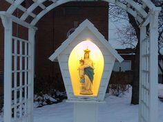 catholic wayside | Wayside Shrine in Rochester