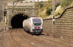 """046_plastico ferroviario """"il plastico della Liguria"""""""