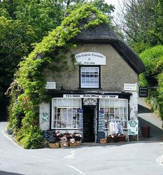 The Bats Wing Tea Room & Gift Shop, Godshill, Ventnor, Isle of Wight.