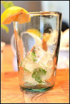 Mint ice cubes...and growing tips for mint plants