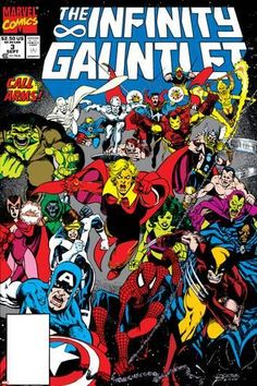 Drawing Marvel Art Print: Infinity Gauntlet Cover: Adam Warlock by George Perez : - Marvel Comic Character, Marvel Comic Books, Marvel Characters, Comic Books Art, Comic Art, Adam Warlock, Warlock Marvel, The Avengers, Thanos Avengers