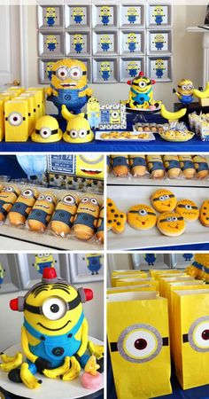 Southern Blue Celebrations: Despicable Me / Minions Party Ideas