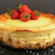 Kleiner Test: Käsekuchen mit Marzipan & weißer Schokolade... #cheesecake #marzipan #whitechocolate #sweet #mitliebegemacht
