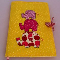 Elephant notebook cover by applesong on Etsy, £18.00