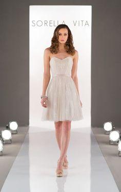 8500 Ivory Bridesmaid Dresses by Sorella Vita