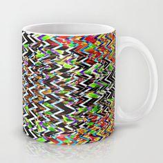 CHEVROMELT Mug by Chrisb Marquez - $15.00