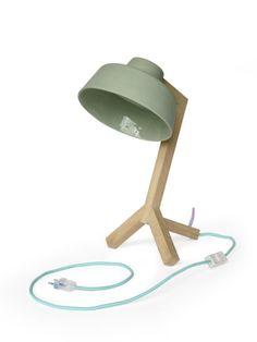 Stel zelf je bureaulamp samen, leuk!