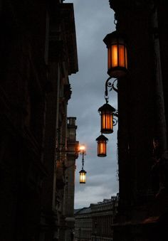 Street Lamps, Newcastle England by Melanie Scott