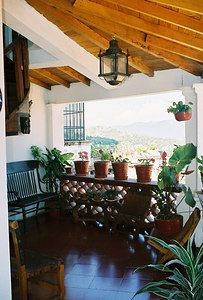 Mexican decor: Hotel in Taxco